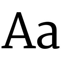 Screenshot for Merriweather (Serif)