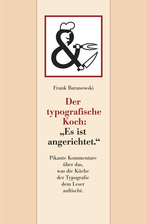 Der typografische Koch