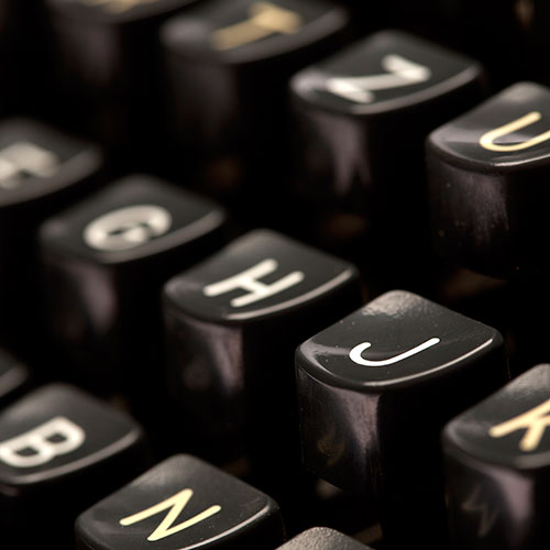 Schreibmaschinen-Schriften