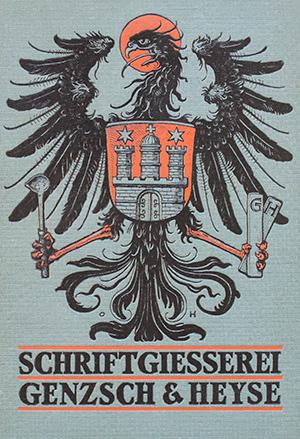 Genzsch & Heyse: Proben von Schriften und Initialen