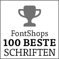 FontShops 100 beste Schriften