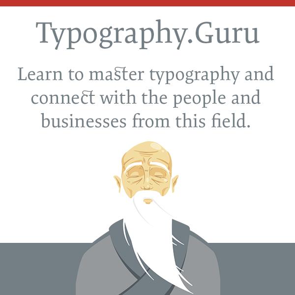 <p>Typography.Guru –Der englische Ableger von Typografie.info.</p>