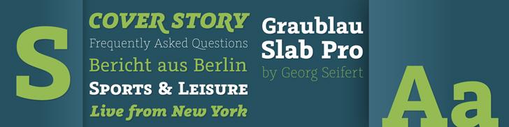 Graublau Slab Pro von Georg Seifert