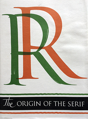 The Origin of the Serif