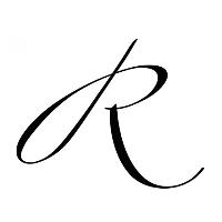 Schwungbuchstaben in kalligrafischen Schrifttypen
