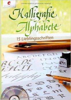 Kalligrafie-Alphabete