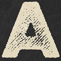 Fonts mit Letterpress-Optik