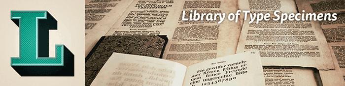Die Bibliothek der Schriftmuster auf Tumblr