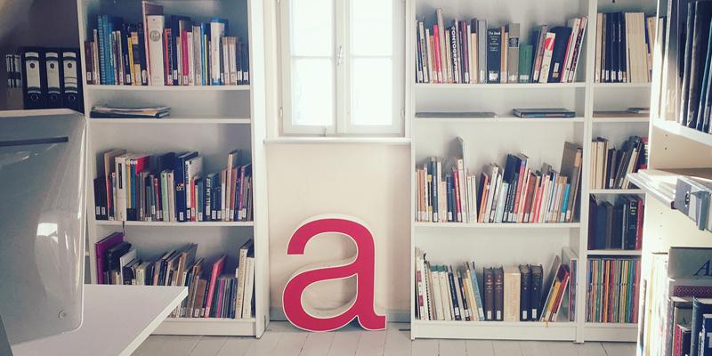 Die neue Fachbibliothek für Schrift und Typografie in Weimar