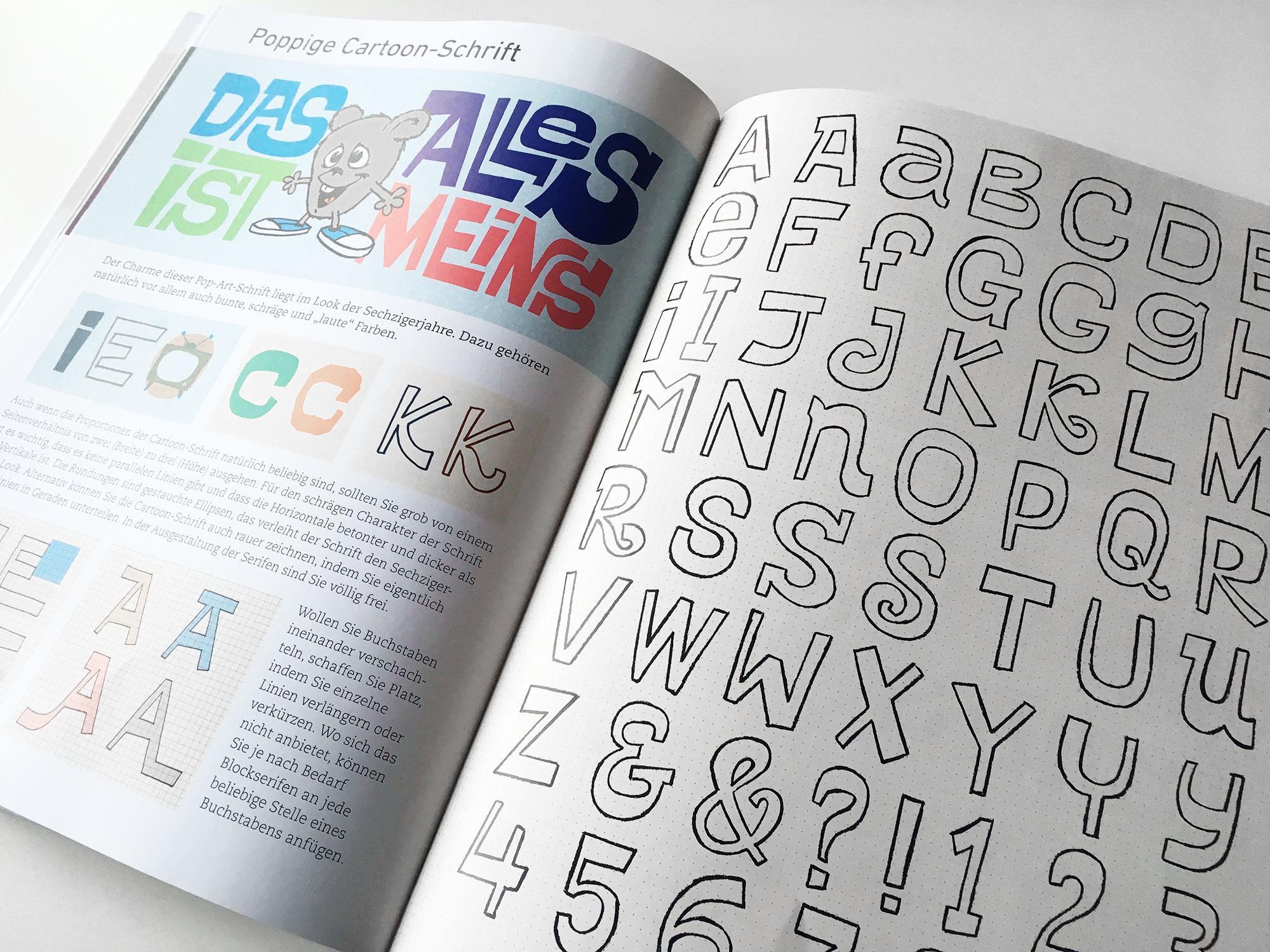Handlettering. Die 33 schönsten Alphabete - Bücher zu Typografie ...