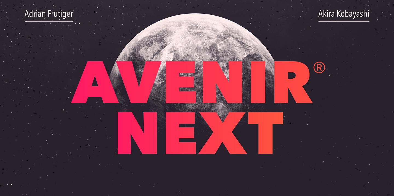 Avenir Next von Adrian Frutiger
