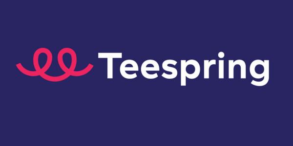 Typografie-Merchandise bei Teespring bestellen