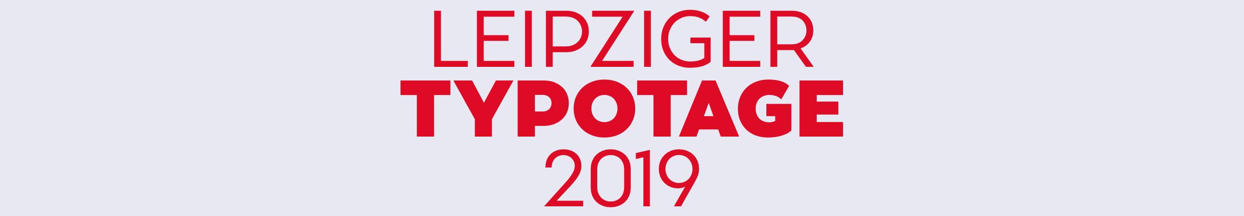 Typotage Leipzig 2019