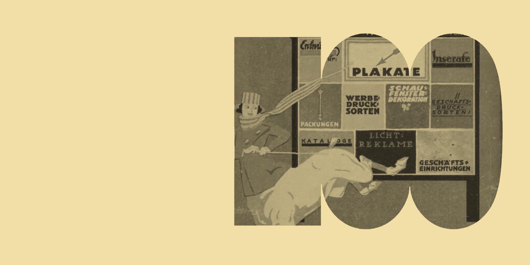 Druckkunst 1919. Das Bauhaus und seine Vorläufer im grafischen Gewerbe