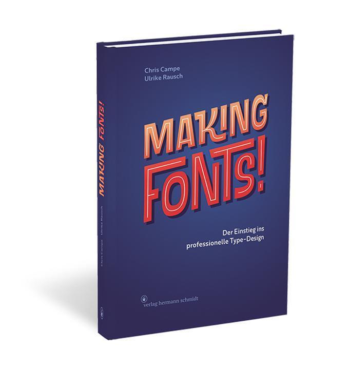 Buchvorstellung: Making Fonts!