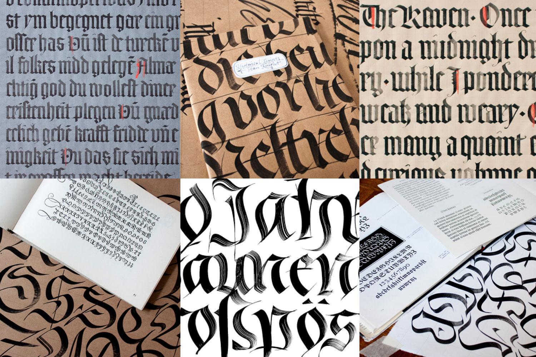 Von Textura zur Fraktur (Kalligrafie-Kurs)
