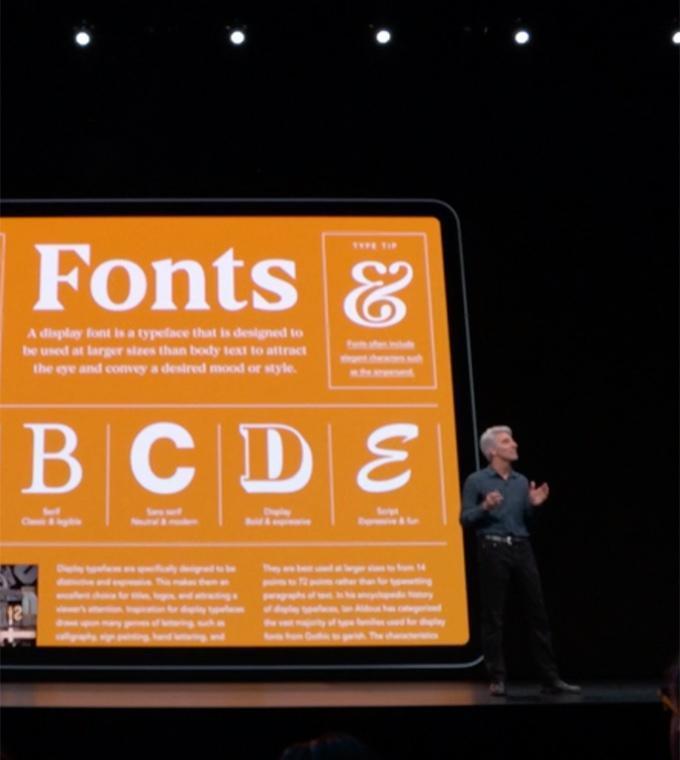Apple erlaubt nun die Installation eigener Schriften unter iOS und iPad OS