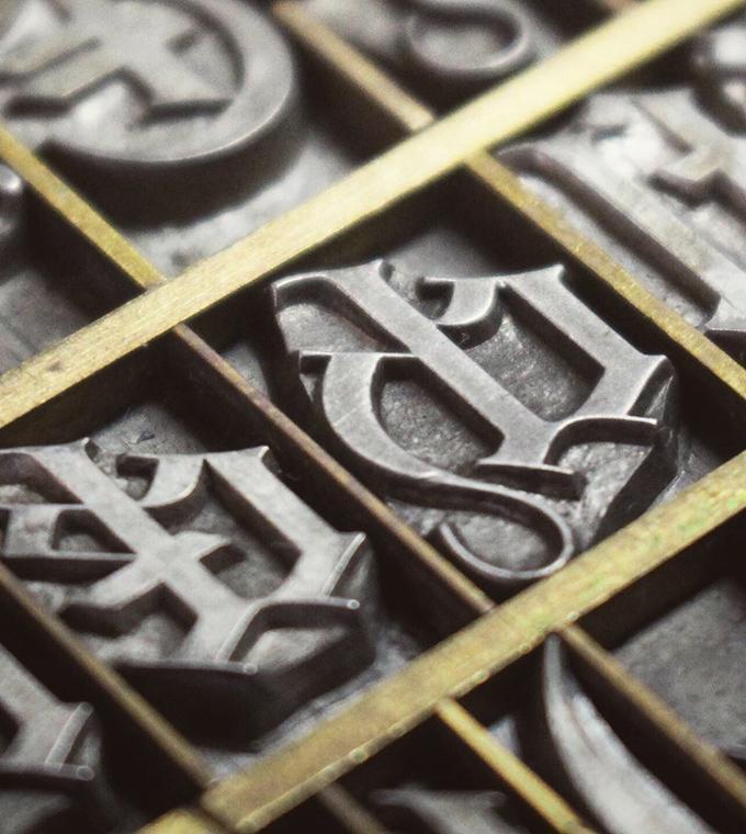 Pavillon Gotisch: Eine Schriftdigitalisierung aus dem Druckkunstmuseum Pavillon-Presse