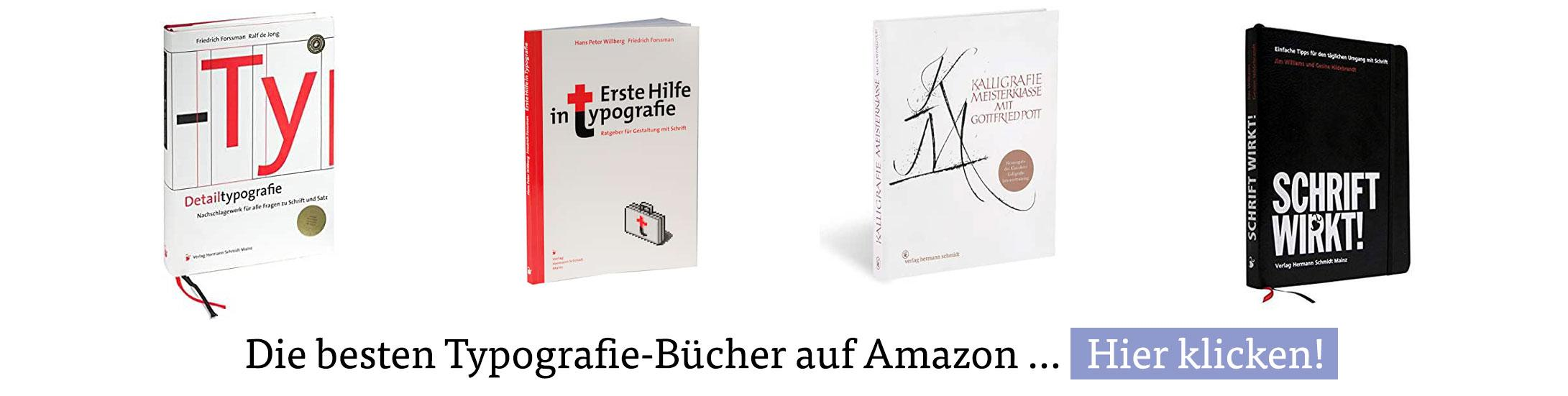 Die besten Typografie-Bücher auf Amazon …