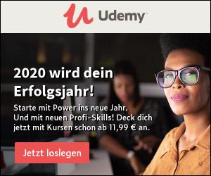 Schau dir das Kurs-Angebot auf Udemy an …