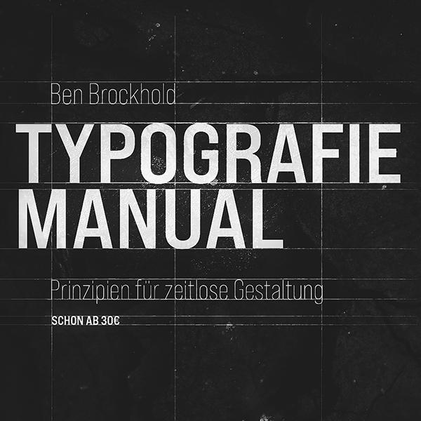 Lerne, wie man Typografie einsetzt.