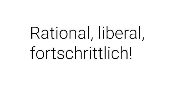 Rational. Liberal. Fortschrittlich. Jetzt die Partei der Humanisten entdecken …