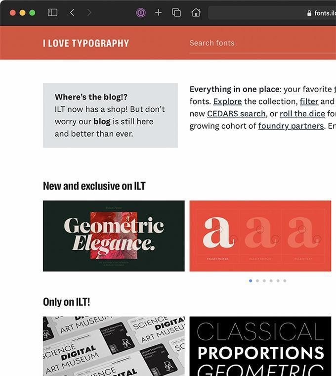 Codename Tsunami: I Love Typography startet als Schrifthändler durch